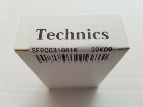 Technics Turntable Headshell 29K09/Black/JAPAN.