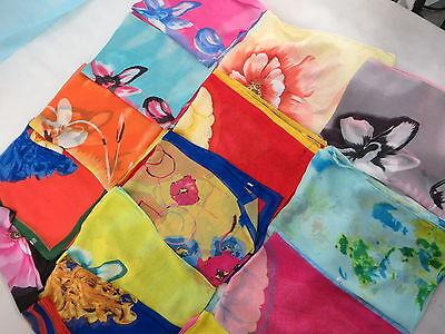 [US seller]$3/p bulk lot of 6 wholesale spring summer scarf chiffon