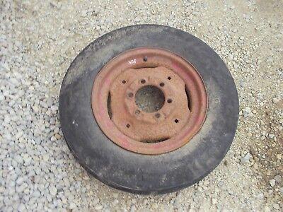 Farmall Ih 504 460 560 Tractor Ih Rim 6.00 X 16 6 Ply Firestone Front Tire
