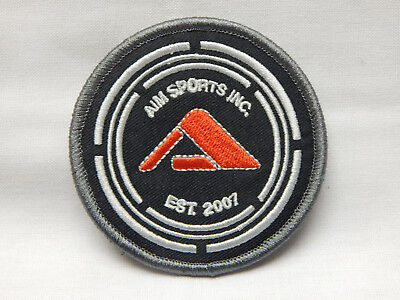AIM SPORTS TACTICAL GEAR HUNTING FIREARMS HOOK LOOP EMBROIDERED PATCH