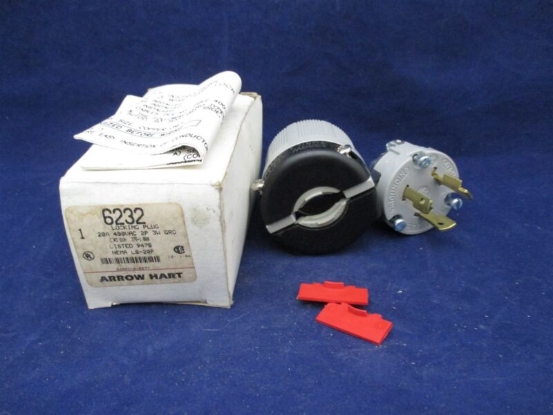 Arrow Hart 6232 Locking Plug new