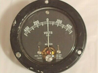 Weston Model 1531 Dc Volts Meter Gauge 500