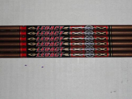 Easton Legacy XX75 Aluminum Arrow Shafts, 1916, 2016, 2018, 2117, 2216, or 2219