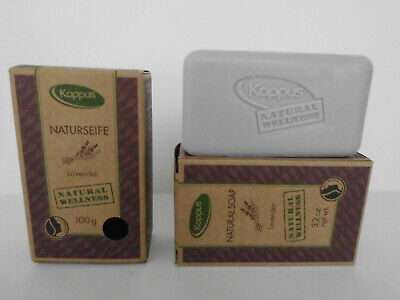 Lavendel-seife (Kappus Naturseife Lavendel Natural Wellness  2 x 100 g = 200 g VEGAN)