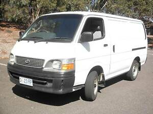 2003 Toyota Hiace Van Bundoora Banyule Area Preview