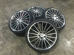 18 Zoll Winterräder 5x112 Keskin KT15 für Mercedes A W176 C W204 CLA E W207 AMG