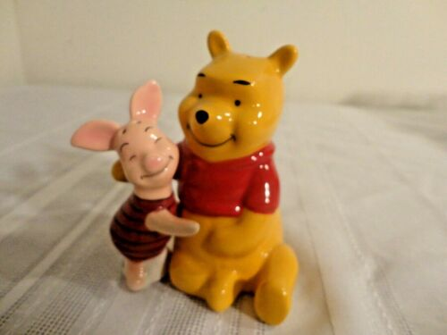 Winnie the Pooh and Piglet Hugging Salt and Pepper Shakers