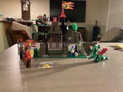LEGO Vintage Castle Dragon Knights Set 6076 DARK DRAGONS DEN 100% COMPLETE NICE