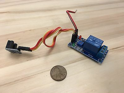 Groove Optical Coupling Plus Relay Module Speed Measuring Sensor 12v Rpm C18