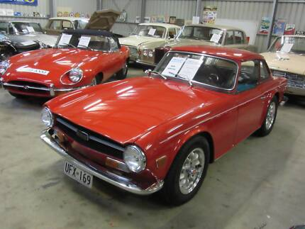 COLLECTABLE CLASSIC CARS - 1971 Triumph TR6 Woodside Adelaide Hills Preview