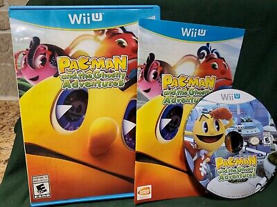 Pac-Man and the Ghostly Adventures (Nintendo Wii U, 2013)  Complete and Tested