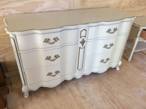 Bassett 6-drawer Dresser - French Provincial Style - Versailles Collection