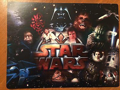 Tin Sign Vintage Star Wars