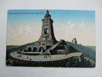 KAISER WILHELM-DENKMAL AUF DEM KYFFHAUSER-Original German Postcard  segunda mano  Embacar hacia Argentina