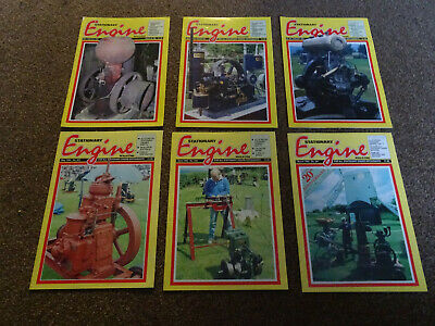 Stationary Engine Magazines x 6 copies 1994-1998