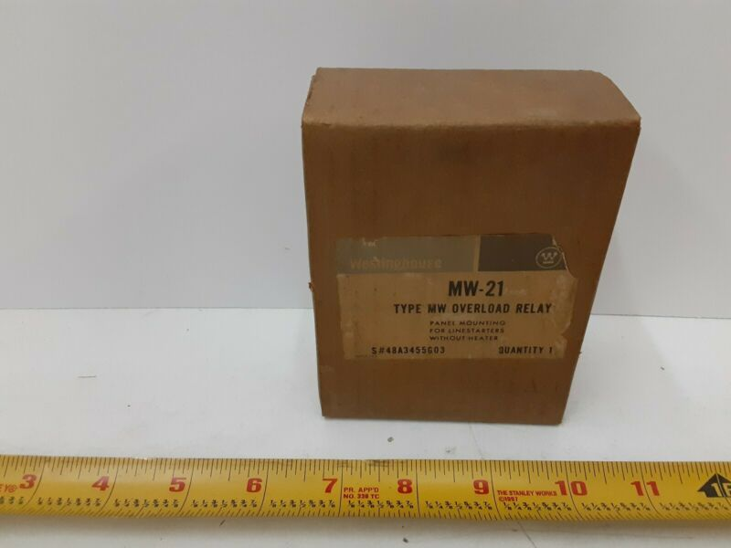 Westinghouse MW-21 Overload Relay