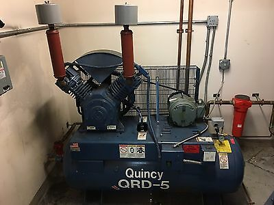Quincy Qrd-5 Air Compressor