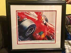 Print - Michael Schumacher in Motion by OLAF