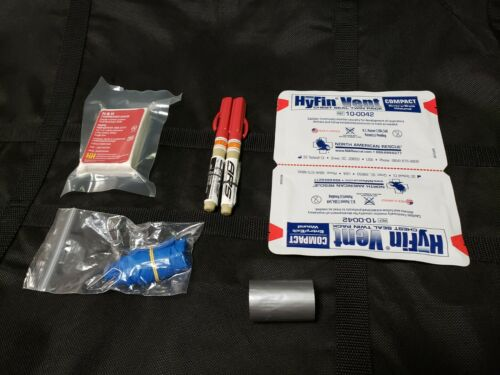 Tactical Chest Trauma Treatment/IFAK refill Kit-New