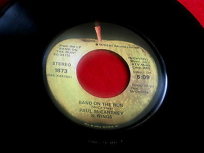 PAUL McCARTNEY~BAND ON THE RUN~VG+~NINETEEN HUNDRED AND EIGHTY FIVE ~ POP