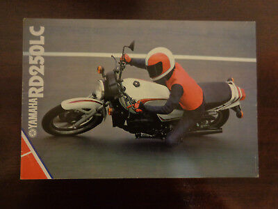 GENUINE ORIGINAL YAMAHA RD250LC MOTORCYCLE SALES BROCHURE