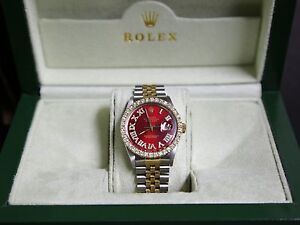 Two tone gold Rolex on sale