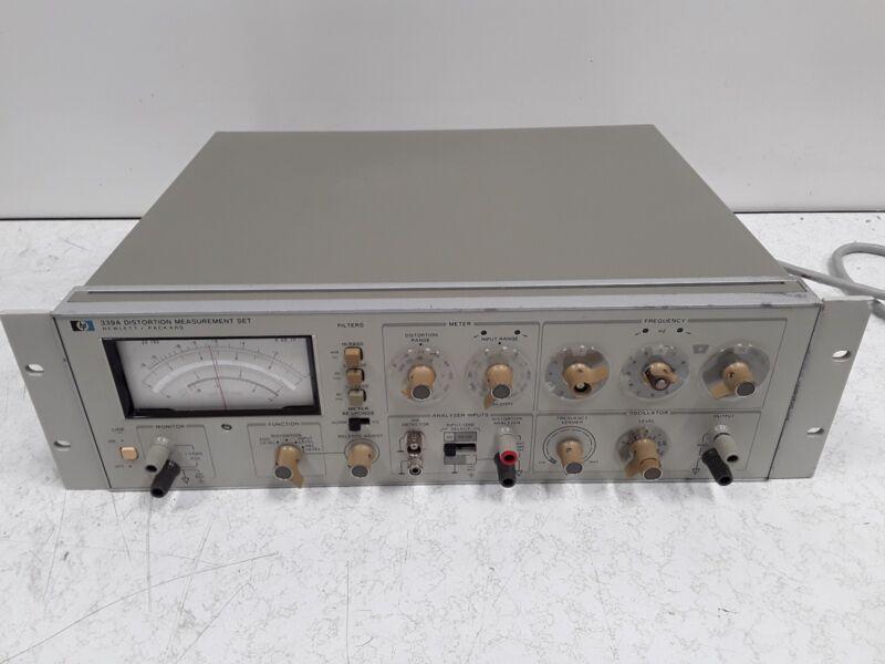 Hewlett-Packard 339 A Distortion Measurement Set