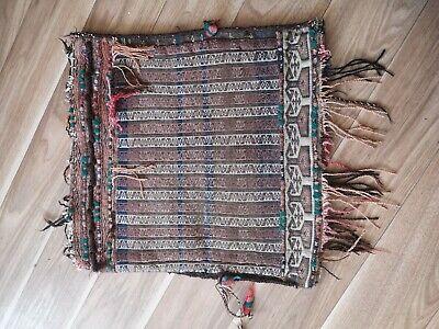 Carpet saddle bag Persian Chanteh Bag Aghanistan made