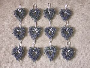 Heart Shaped Lavender Wreaths