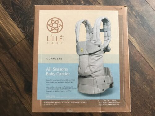 NEW LILLEbaby Complete SIX-Position Ergonomic Baby Carrier STONE