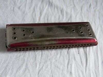 Alte Mundharmonika Weltmeister Vermona Ges. gesch. Made in Germany vor 1945