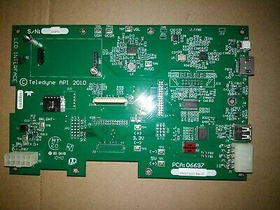 06697 Lcd Interface Pcb For Teledyne T200 Teledyne Api Nox Analyser Model T200