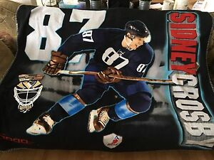 Sidney Crosby large blanket and car banner