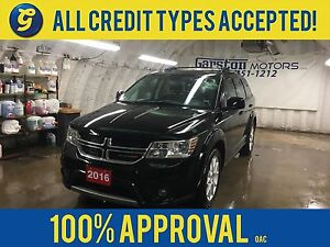 2016 Dodge Journey LIMITED*POWER SUNROOF*REAR DVD PLAYER*BACK UP