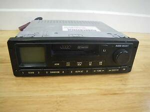 RARE 90's VINTAGE AUDI EUROVOX CAR AM/FM RADIO & CASSETTE PLAYER Malvern East Stonnington Area Preview