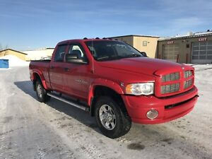 2005 Dodge Ram Cummins Diesel Low Km's