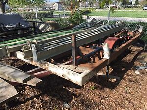 Boat lift cradle solid heavy duty with pulleys