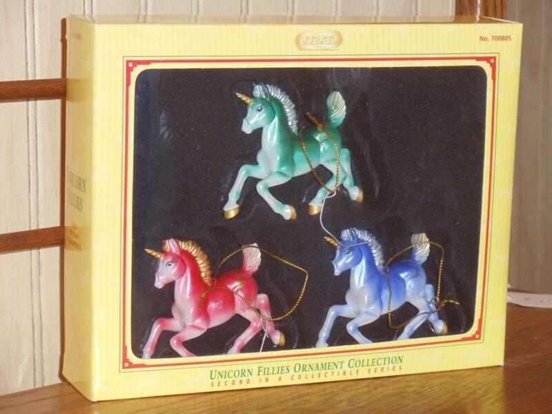 Breyer Unicorn Fillies ornament 2005