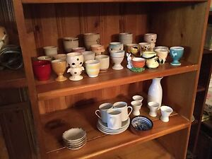 Collection of egg cups or by choice