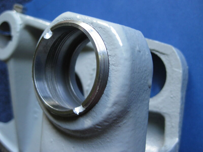 SPANNER NUT FOR RETAINING THE BEARING ON A VINTAGE DELTA UNISAW ARBOR