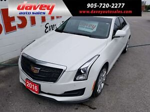 2016 Cadillac ATS 2.0L Turbo Luxury Collection ALL WHEEL DRIV...