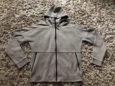 Adidas Zip Up Cotton Hoodie Track Top Jacket Medium Mens Hoody
