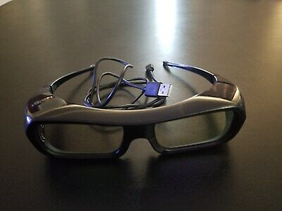 Sony TDG-BR250 Active 3D Glasses TESTED AND WORKING
