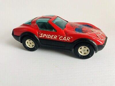 Spiderman Spider Car 1980 Buddy L Toy Pressed Steel Japan Vintage