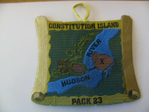 BSA Boy Scout  Constitution Island  Beacon NY  Patch NOS New Stock Free Shipping