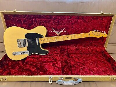 2018 Fender Custom Shop 1951 Nocaster NOS - Faded Nocaster Blonde