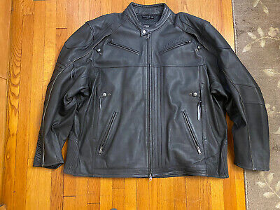 Harley Davidson Leather Jacket Riding 5XL Great Condition Preowned Big & Tall