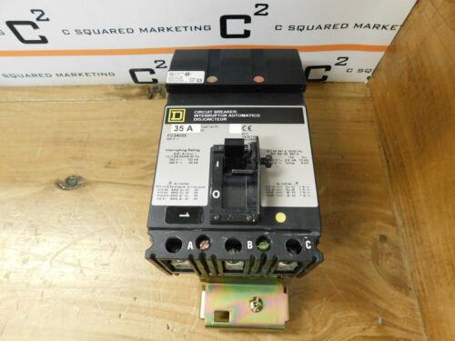 Square D FC34035 I-Line Circuit Breaker Series 3 35A 480V 3 Pole CSQ