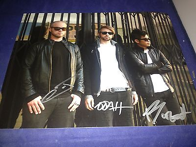 Glitch Mob Complete Group Signed 8x10 Photo Autographed Exact Proof W/COA