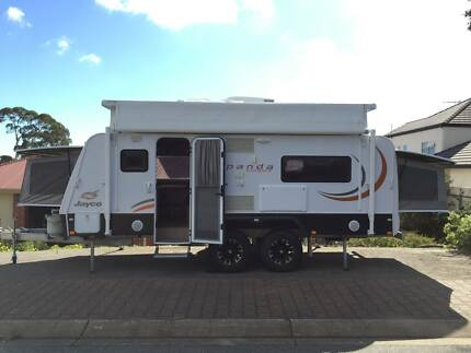 Jayco Expanda Outback 17.56-1 (2013) with full canvas annexe Craigburn Farm Mitcham Area Preview